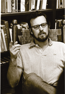 A young Charles Newman courtesy of John Hopkins University magazine