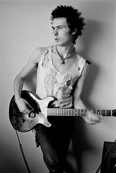 Sid Vicious, 1977 