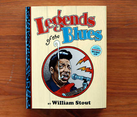 Legends of the Blues by William Stout