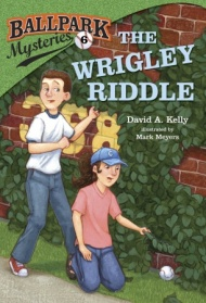 Ball Park Mysteries #6, The Wrigley Riddle by David Kelly