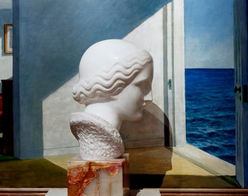Nadelman/Hopper by Abelardo Morell (-Yale University Art Gallery, 2008)