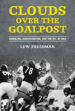 Clouds over the Goalpost    by Lew Freedman
