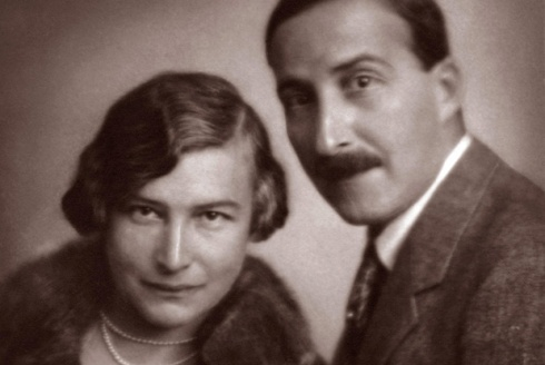 Friderike  & Stefan Zweig( Getty Images)