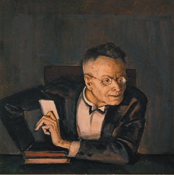 Portrait of Karl Kraus by Erich Lessing/Art Resource