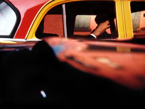 Taxi (photo: by Saul Leiter)