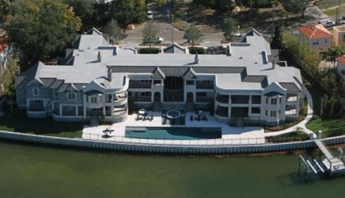 Derek Jeter's home (photo borrowed from ???