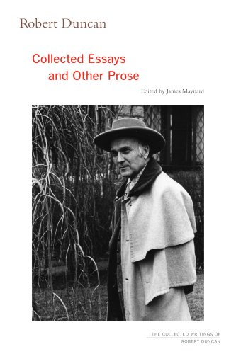 Collected Essays & Other Prose by Robert Duncan