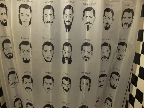 My shower curtain