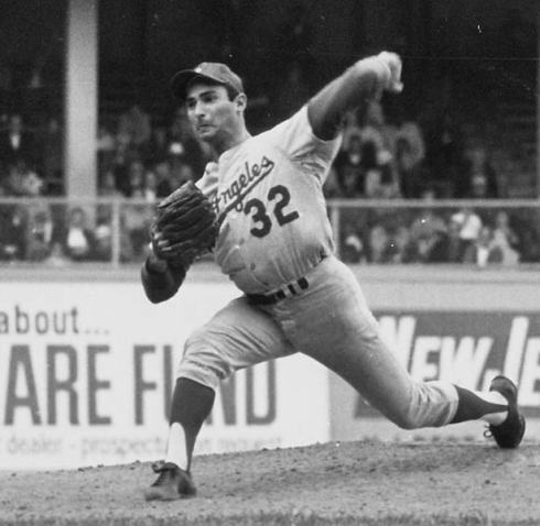 Sandy Koufax (Purloined from the Internet)