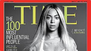 "Beyonce on Time magazine's 100 ""Influential People"" Issue"