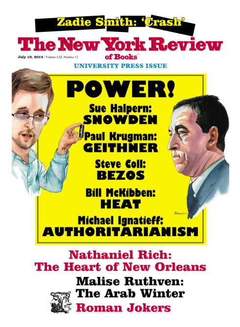 recent issue  of  the New York Review of Books