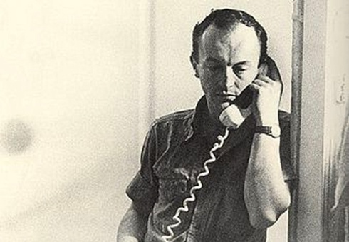 Frank O'Hara in 1965 (Mario Schifano / Wikimedia)