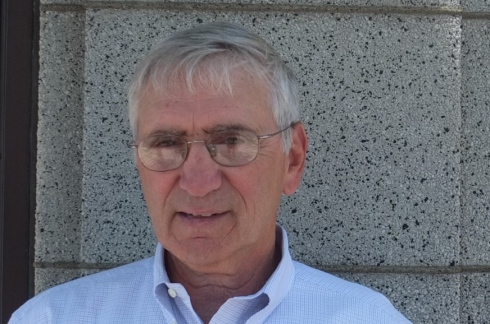 Newton North HS Varsity Baseball coach Joe Siccliano (photo Robert Birnbaum
