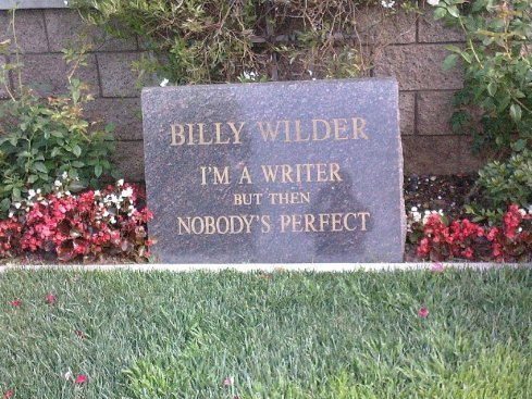 Billy Wilder's Headstone