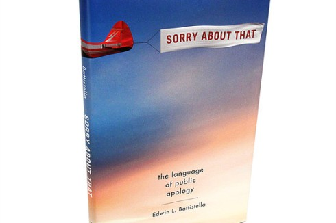 Sorry About That by Edward Battistella