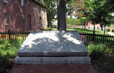Joseph Smith's grave site , Nauvoo, Illinois