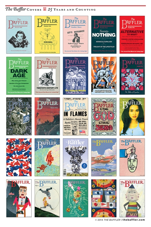 The Baffler  covers