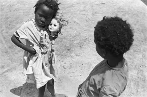 Broken doll, Hughes, AR, 1970