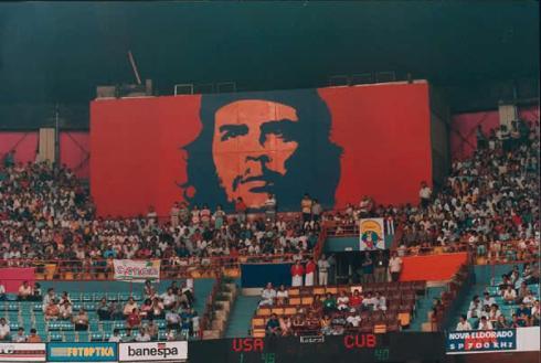 At Pan Am Games, 1992, Havana-[photo Robert Birnbaum