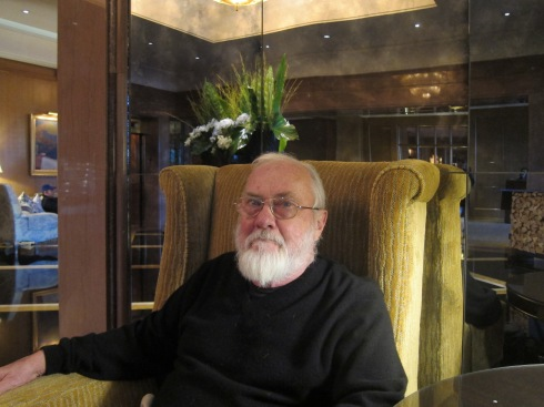Robert Stone circa 2013 [photo Robert Birnbaum]