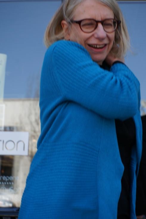 Roz Chast [photo: Robert Birnbaum]