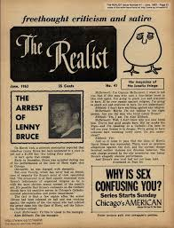 The Realist Issue No. 44 - Lenny Bruce arrested (1963)