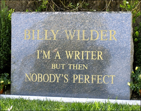 Billy WIlder's Headstone [photographer unknown]