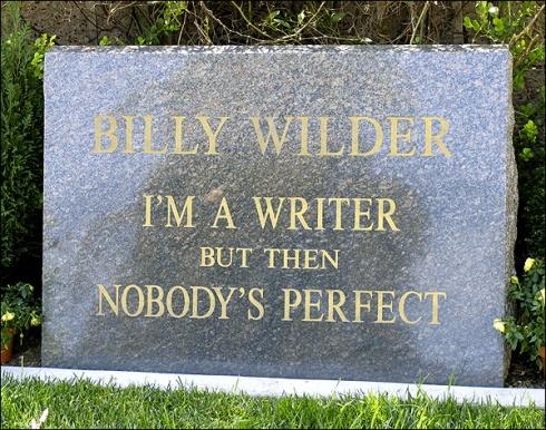 Billy WIlder's Headstone [photographer unknown]