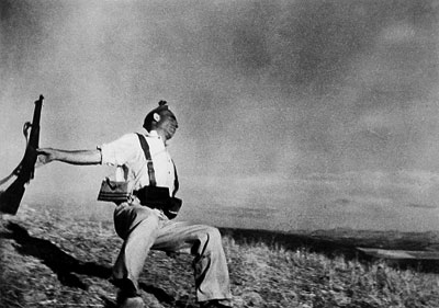 Death of Loyalist Soldier by Robert Capa