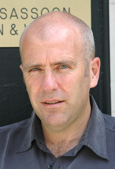 Richard Flanagan circa 2007 [photo: Robert Birnbaum]