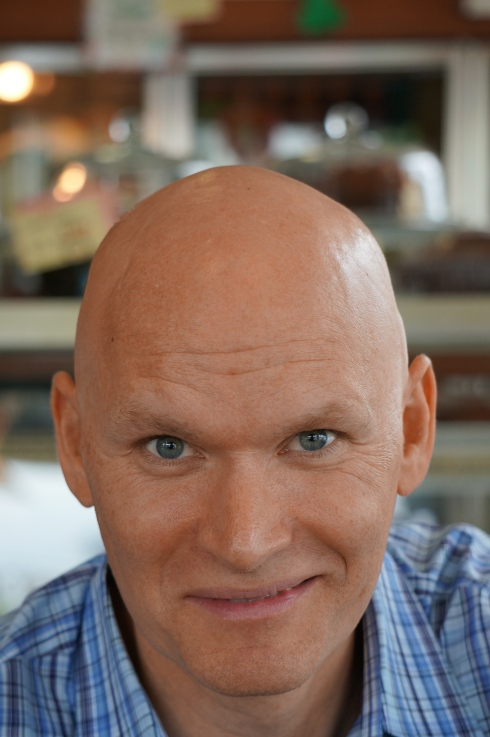 Anthony Doerr {Photo: Robert Birnbaum]