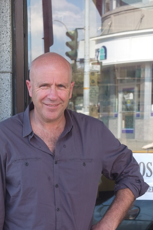 Richard Flanagan [photo: Robert Birnbaum]