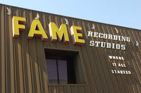 Fame Recording studio, Muscle Shoals, Alabama