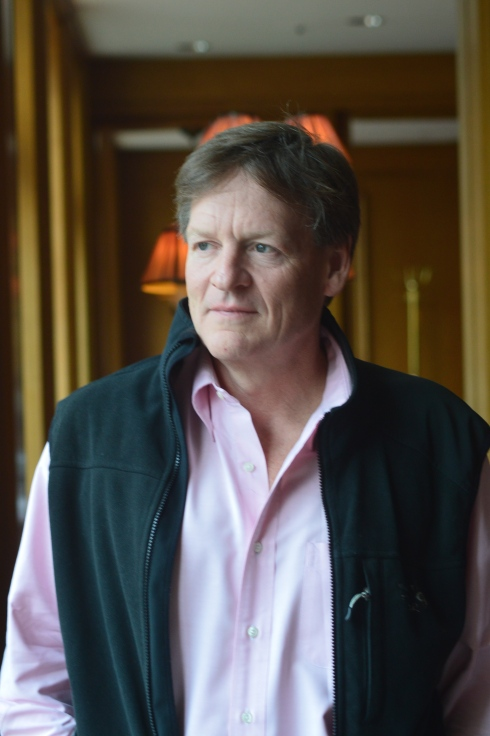 Michael Lewis [photo: Robert Birnbaum]