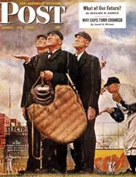 Norman Rockwell's cover for the Saturday  Evening Post
