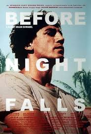 Movie poster for Before Night Falls