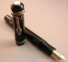 Mont Blanc, Agatha Christie fountain pen