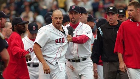 Gabe Kapler (circa 2004 at Fenway, vs NY Yankees)