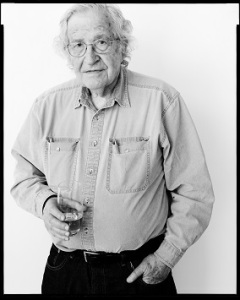 Noam Chomsky [photo: Oliver Abraham]