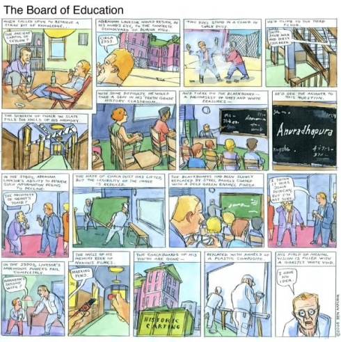 """The Board of Education,"" by Ben Katchor"