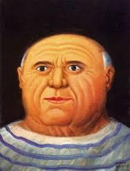 "Botero ""Picasso"" 1999"