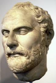 statute of great public speaker ,Demosthenes
