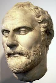 statute of great public speaker ,Demosthenes